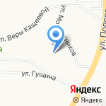 Лаки Хилл на карте Барнаула