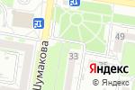 Схема проезда до компании Bella rose в Барнауле