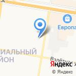Швейк на карте Барнаула