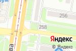 Схема проезда до компании Азия в Барнауле