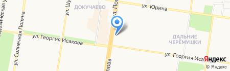 Восточный экспресс банк на карте Барнаула