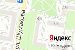 Схема проезда до компании Монолит в Барнауле