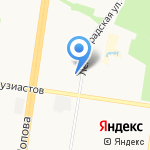 Сервис-мастер на карте Барнаула