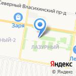 ДеЛюкс на карте Барнаула