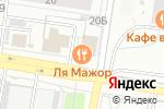 Схема проезда до компании Гагарин в Барнауле