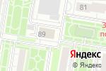Схема проезда до компании Ранг в Барнауле