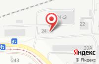 Схема проезда до компании Газмонтажсервис в Барнауле