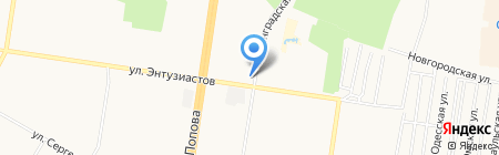 Дизайн мебель на карте Барнаула