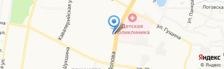 Детская стоматологическая поликлиника №2 на карте Барнаула