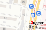 Схема проезда до компании Bliss в Барнауле