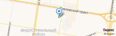 Медицинский центр Косметологии на карте Барнаула