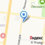 Бисквит на карте Барнаула
