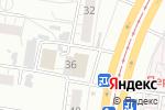 Схема проезда до компании Всё для ремонта в Барнауле