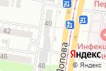 Схема проезда до компании Продуктовый дворик в Барнауле
