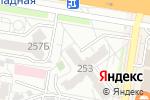 Схема проезда до компании Геотех в Барнауле