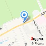 Автомир на карте Барнаула