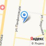 Глашатай на карте Барнаула