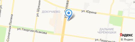 Сибирский стиль на карте Барнаула