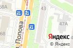 Схема проезда до компании Мирт в Барнауле