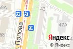 Схема проезда до компании ЛиК в Барнауле