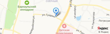 Сибмарко Алт на карте Барнаула