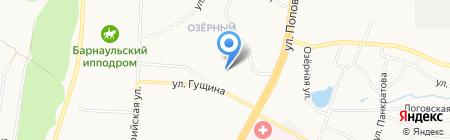 Почтовое отделение №63 на карте Барнаула