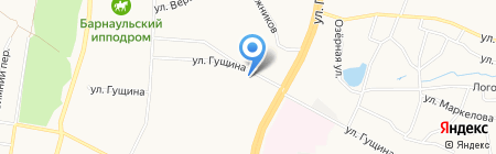 Комплексный центр социального обслуживания населения г. Барнаула по Ленинскому району на карте Барнаула