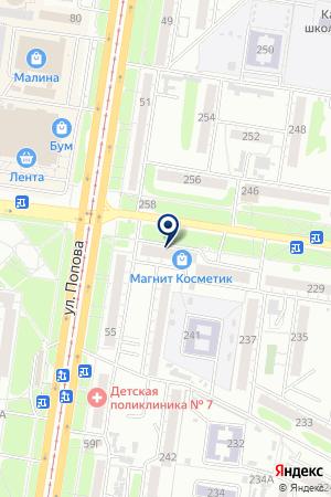 Комфорт мебель на карте Барнаула