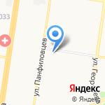 Идеал-Спорт на карте Барнаула