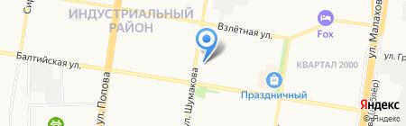 Ани на карте Барнаула