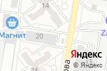 Схема проезда до компании Рыболовный комок в Барнауле
