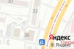 Схема проезда до компании Продуктовый магазин в Барнауле
