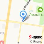 Автопарк на карте Барнаула