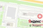 Схема проезда до компании ДЮСШ им. Алексея Черепанова по хоккею в Барнауле