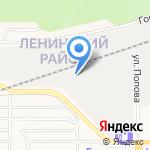Зенит-Алтай на карте Барнаула