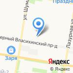 ОЗОН-1 на карте Барнаула