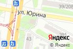Схема проезда до компании Гаяне в Барнауле