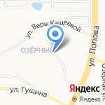 Миллениум на карте Барнаула