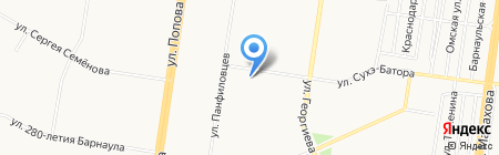 Участковый пункт полиции Отдела полиции №2 УВД по г. Барнаулу на карте Барнаула
