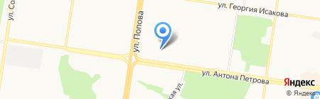 Предбанник на карте Барнаула