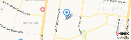 ПиFFко на карте Барнаула