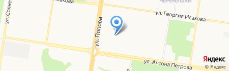 Детский сад №252 на карте Барнаула