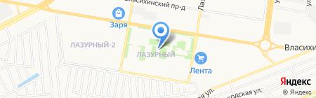 Amway на карте Барнаула