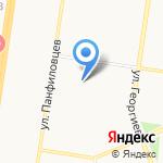 Бирзона на карте Барнаула