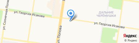 Кариб-плюс на карте Барнаула