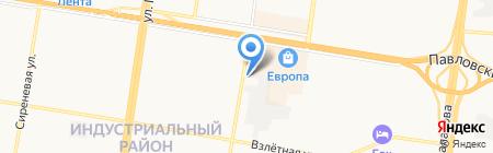 PITSTOP на карте Барнаула