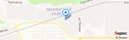 Аварийно-диспетчерская служба на карте Барнаула