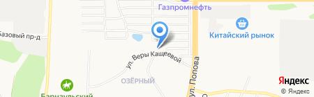 СтройКонтракт на карте Барнаула