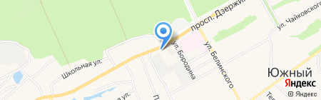 Автоспас Барнаул на карте Барнаула