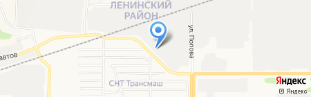 Град на карте Барнаула